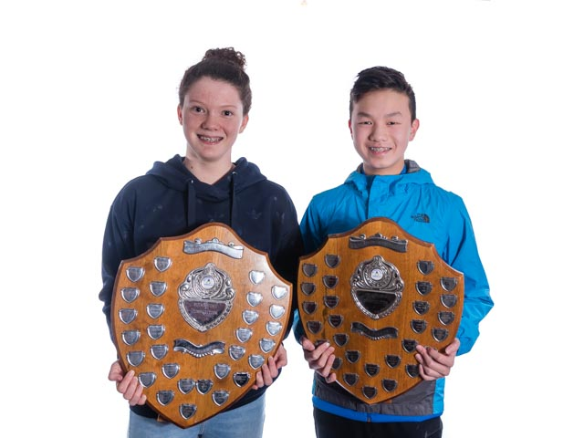 Rebecca L and Matthew Ho, 2018 Pointscore Winners